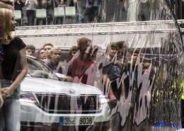 275 lidí a Škoda Kodiaq v bublině