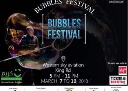 Bubble Festival Jeddah with bubble master Matěj Kodeš