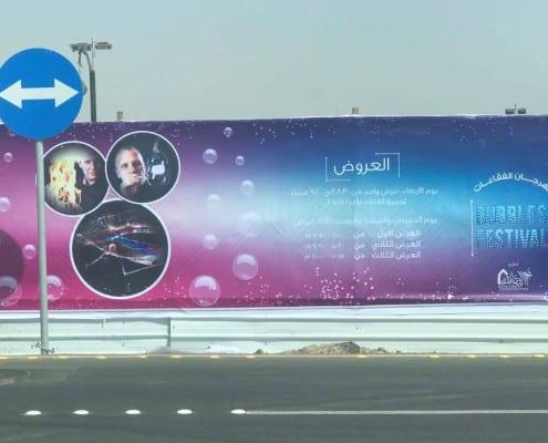 bubbles festival v Saudské Arábii