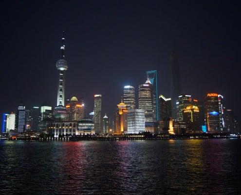 Shanghai, bubble show