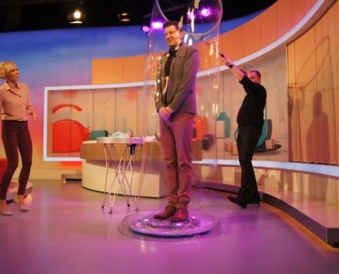 bubbleshow v televizi