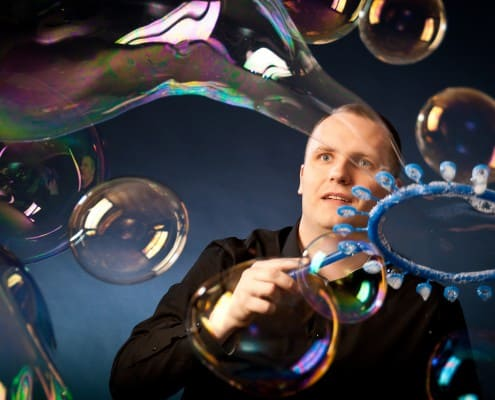Profesionální bublinová show