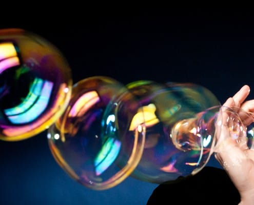 bublinová show
