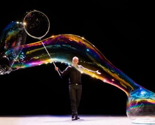 bublinář, bubble show
