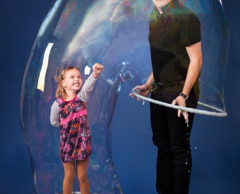 bublinová show pro děti