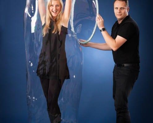 bublinová show pro dospělé