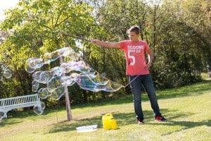 kapalina na bubliny