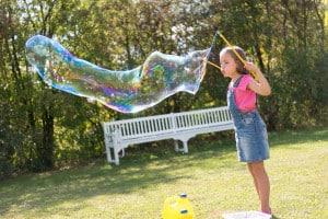 směs na bubliny